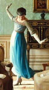 Harem Pants - Downton Abbey - Lady-Sybil-in-Poiret-style-harem-pants
