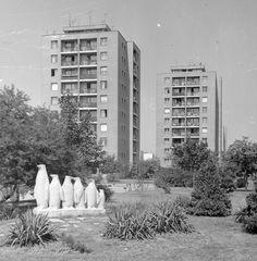 Ilyen is volt Budapest - Építő utca és a pingvinek Budapest, Hungary, Romania, Vintage Photos, Multi Story Building, Marvel, Retro, Architecture, Utca