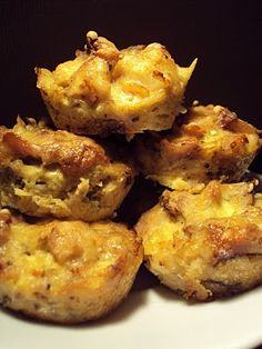 LCHF-bloggen: Kyllingmuffins Low Carb Recipes, Real Food Recipes, Chicken Recipes, Lchf, Banting, Savory Muffins, Sauteed Vegetables, 350 Degrees, Muffin Tins