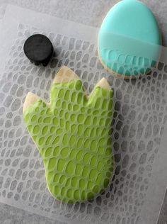 Dinosaur Foot Cookies sugarbelle strikes again! #dinosaurs, #decoratedcookies, #cookiedecorating, #dinos