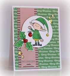Christmas Elf - Scrapbook.com