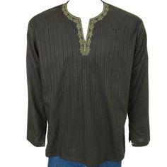 chemise kurta indien pour les hommes, vêtements de confort pour le printemps et l'été: Amazon.fr: Vêtements et accessoires