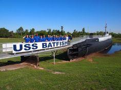 Tour the USS Batfish, a WWII submarine, in Muskogee, OK.