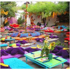 Hippiemarket. Namasté