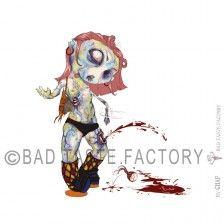 Zombie Girl! www.badtastefactory.com