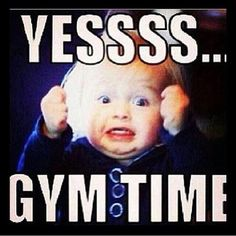 After a long stressful day, sometime gym time makes it all better