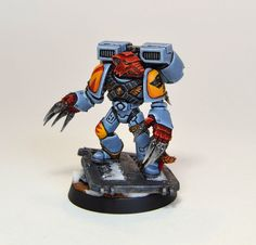 Space Wolves and Ultramarines Project Log - Page 4 Warhammer 40k Space Wolves, Warhammer 40k Figures, Warhammer Models, Warhammer 40k Miniatures, Warhammer Fantasy, Games Worshop, Wolf Time, Crusaders, Space Marine