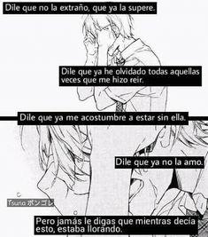 Solo dile.... Que fuerte Sebaciel, Sad Anime, Kaneki, Noragami, Wanderlust Travel, Nostalgia, My Life, Romance, Letters