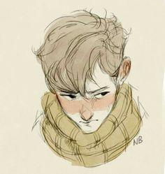 Ilustración de un chico.