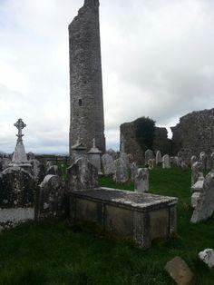 Tullaherin Monastic Site Cemetery. County Kilkenny. Ireland