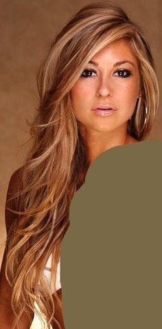 Carmel base w/ blonde highlights. This is what I want for winter hair Kim Howard… Carmel base w/ blonde highlights. This is what I want for winter hair Kim Howard Guffey. Love Hair, Great Hair, Gorgeous Hair, Gorgeous Blonde, Amazing Hair, Gorgeous Makeup, Hairstyles Haircuts, Pretty Hairstyles, Long Haircuts