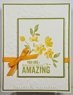 Heart's Delight Cards: Pretty Painted Petals
