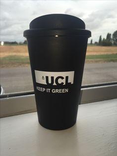 University College Londons 'Keep It Green' Resueable Travel Mug