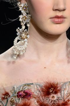 Marchesa, Fall 2016 - The Most Incredible Statement Jewelry of Fall 2016 - Photos
