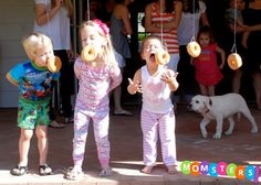 This was a hilarious game to watch a bunch of 5 y/o play.  Momsters: A Pajama Party for your Little One - Top Picks