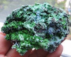 175g ARSENOCRANDALITE CONICHALCITE SPECIMEN LAVRIO MINES HELLAS κκ28  greek minerals , minerlas from greece ,