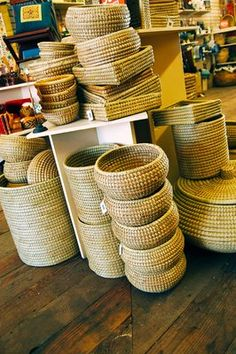 Ten Thousand Villages. Perfect gift for organizing a home. Stylish too. #fairtuesday