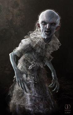American Horror Story Infantata Design, Jerad Marantz on ArtStation at https://www.artstation.com/artwork/AgN