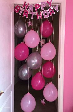 Surprise birthday party ideas for husband elegant 25 unique birthday mornin. - Surprise birthday party ideas for husband elegant 25 unique birthday morning surprise ideas on - Birthday Door, Birthday Fun, Birthday Parties, Balloon Door Birthday, Birthday Quotes, Birthday Presents, Birthday Wishes, Unique 50th Birthday Gifts, Birthday Pranks