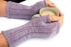 Ghislaine Gloves FREE knitting pattern