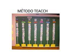 Método teacch : Breve descripción del método TEACCH, que es utilizado como una estrategia de aprendizaje para los niños con autismo.
