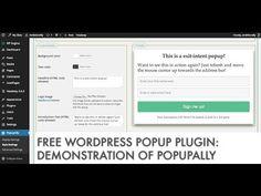 Free WordPress Popup Plugin: PopupAlly Live Demonstration - http://www.howtowordpresstrainingvideos.com/free-wordpress-popup-plugin-popupally-live-demonstration/