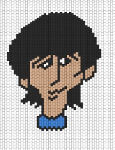 George Harrison From The Beatles Cartoon