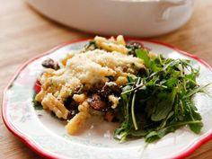 Get Spinach Alfredo Pasta Bake Recipe from Food Network