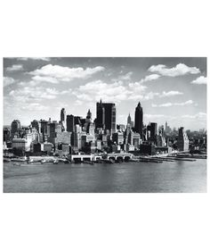 Buy 1Wall Manhattan Skyline Wall Mural at Argos.co.uk - Your Online Shop for Murals and wall stickers.