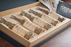 Personalised Set of 5 Whisky Gift Set - Regional Selection
