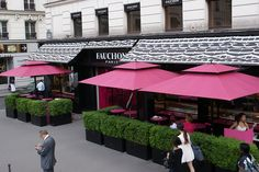 Fauchon | Place de la Madeleine (Paris 8ème).  Kathleen and I had a fabulous lunch here, terrines, sausages, French ham and asparagus with the most wonderful tomatoes and baguettes...with a glass of wonderful French wine...wow!