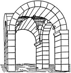 Groin vault - feature of ROMANESQUE architecture