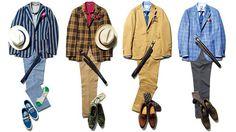 シティの夏──ジーン・クレールのスタイル講座(2) ワードローブ(メンズファッションアイテム) GQ JAPAN