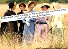Jane Austen Confessions