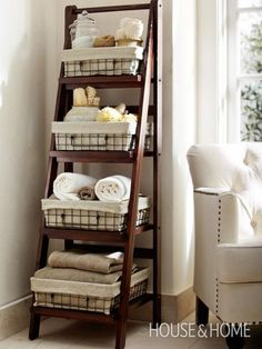 ゝ。Elegant Storage Ladder