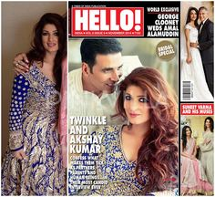 Akshay Kumar and Twinkle Khanna cover Hello! India
