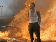 "Adam Levine Blows Up Cars (And Looks Real Fine Doing So) In Maroon 5′s New ""Payphone"" Video"