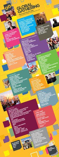 Global Gathering 2012 line up - Major!