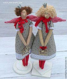 Куклы Тильды ручной работы. Ярмарка Мастеров - ручная работа. Купить Гномочка Тильда Фея рождества. Handmade. Ярко-красный