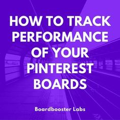 Pinterest marketers use quite a few metrics to measure their success. There are some great free tools that can help with this: Google Analytics can track your referral traffic and how well it converts.  Pinterest Analytics provides lots of engagement metrics to owners of Business Accounts. And yet, BoardBooster users