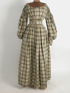 c1830 dress. Killerton Fashion Collection © National Trust