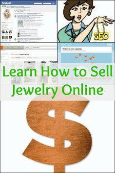 Learn how to sell jewelry online the right way in this FREE eBook filled with expert tips! #jewelrymaking #jewelrybusiness #selljewelry #DIY