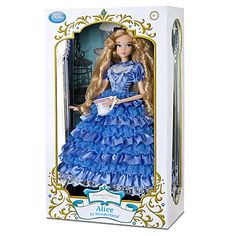 Limited Edition Alice in Wonderland Doll - 17''