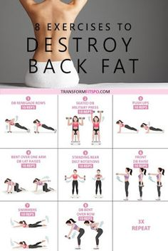 8 Exercises to Get Rid of Lower Back Fat - Healthy Lifestyle