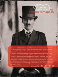 """Povestea lui Iosif Jumanca, una dintre personalitățile care a ținut discursurile din Sala Unirii în 1918, s-a terminat tragic...  De când am început dialogurile cu cei pe care îi întâlnim în proiectul național """"100 de chipuri românești"""" am avut ocazia să aflăm multe detalii pe care nu le știam din manualele de istorie. Sperăm să le descoperi și tu cu interes pe parcursul acestui an! #100deromani #100dechipuri #mareaunire #centenar #collodionportrait #ambrotype - cu Dragos Ursu. Celebrities, Movies, Movie Posters, Films, Film Poster, Popcorn Posters, Celebs, Cinema, Foreign Celebrities"""