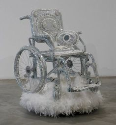 'pimped out' wheelchairs- lol!