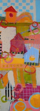 Birdsnest : Archive of Sold Work : Susan Finsen - Abstract Drawing and Painting