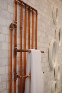 how to clean copper radiator pipes