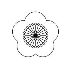 ume_flower-blackwhite