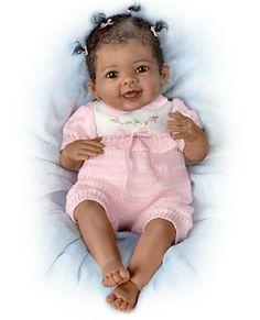 Adorable Linda Murray baby